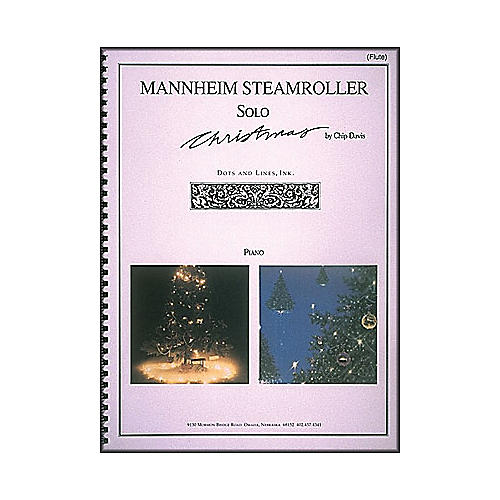Hal Leonard Mannheim Steamroller Solo Christmas Solos for Flute And Piano thumbnail