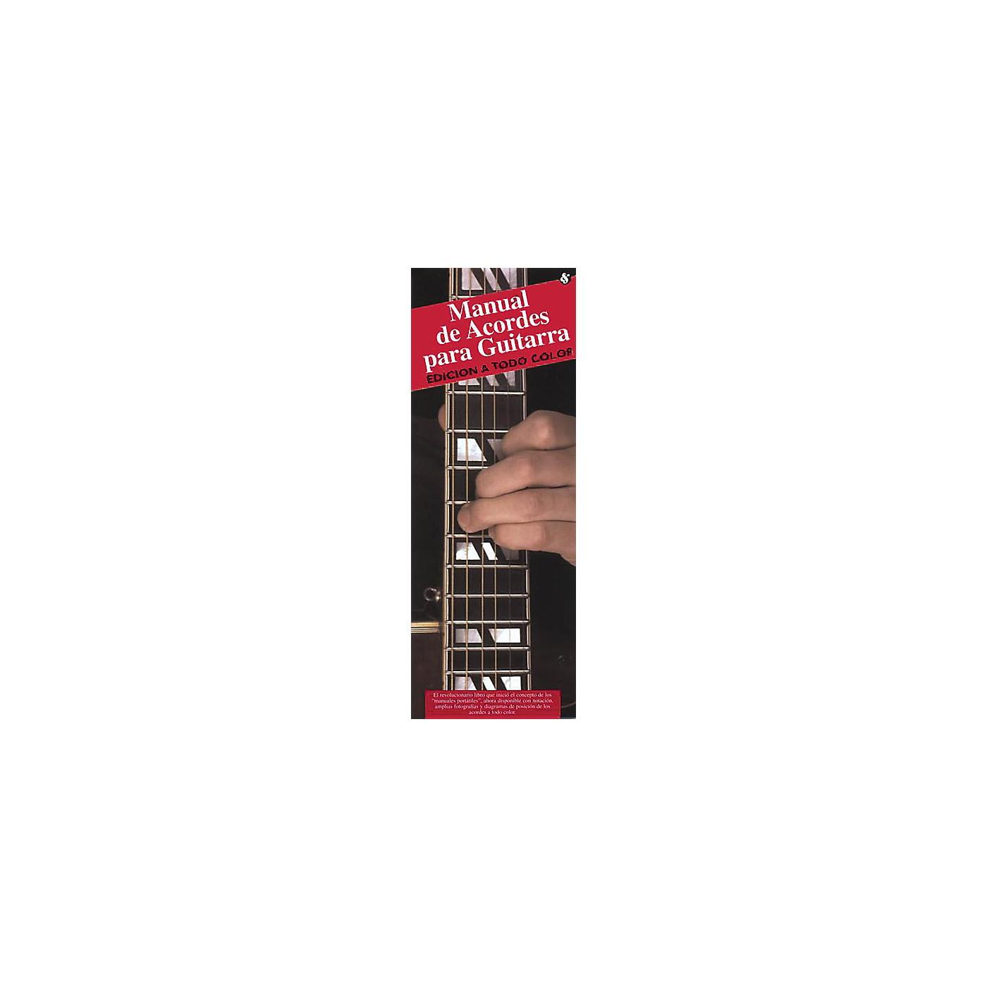 Music Sales Manual De Acordes Para Guitarra (Edicion A Todo Color) Music Sales America Series Softcover by Various thumbnail