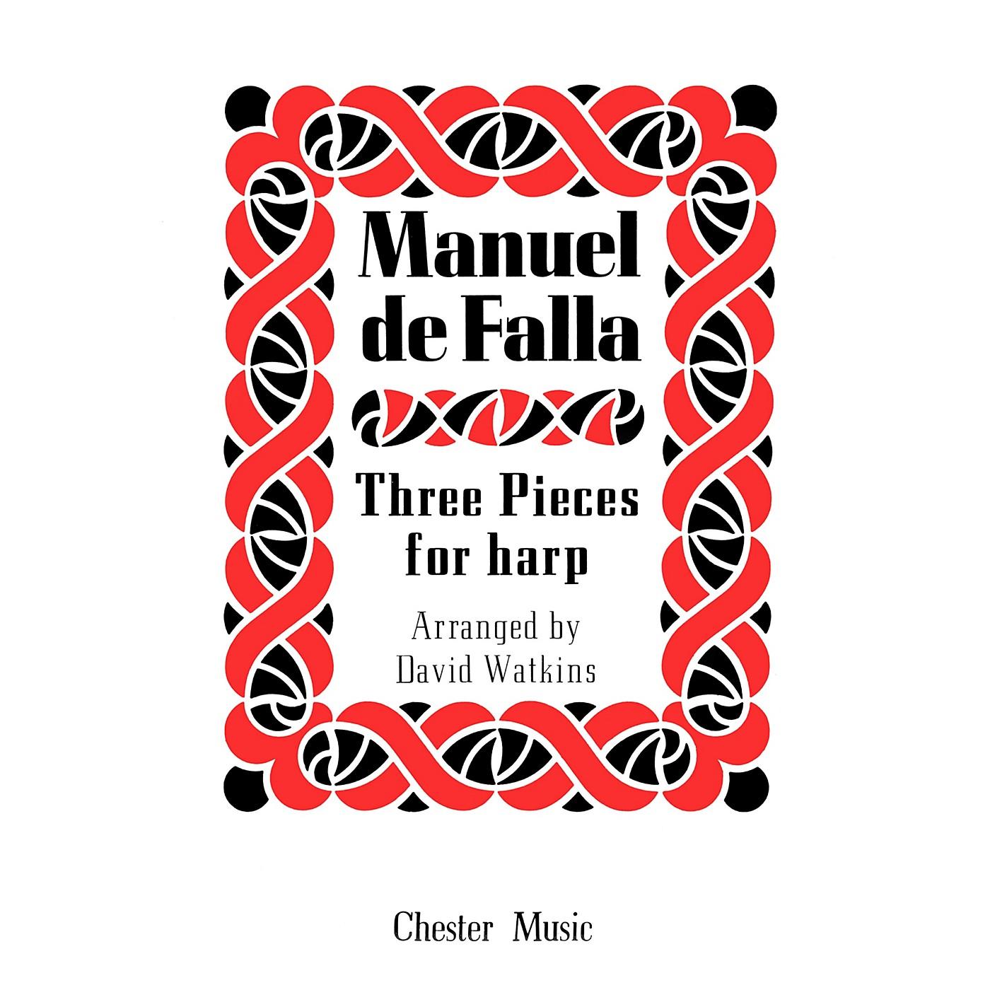 Music Sales Manuel De Falla: Three Pieces For Harp Music Sales America Series thumbnail
