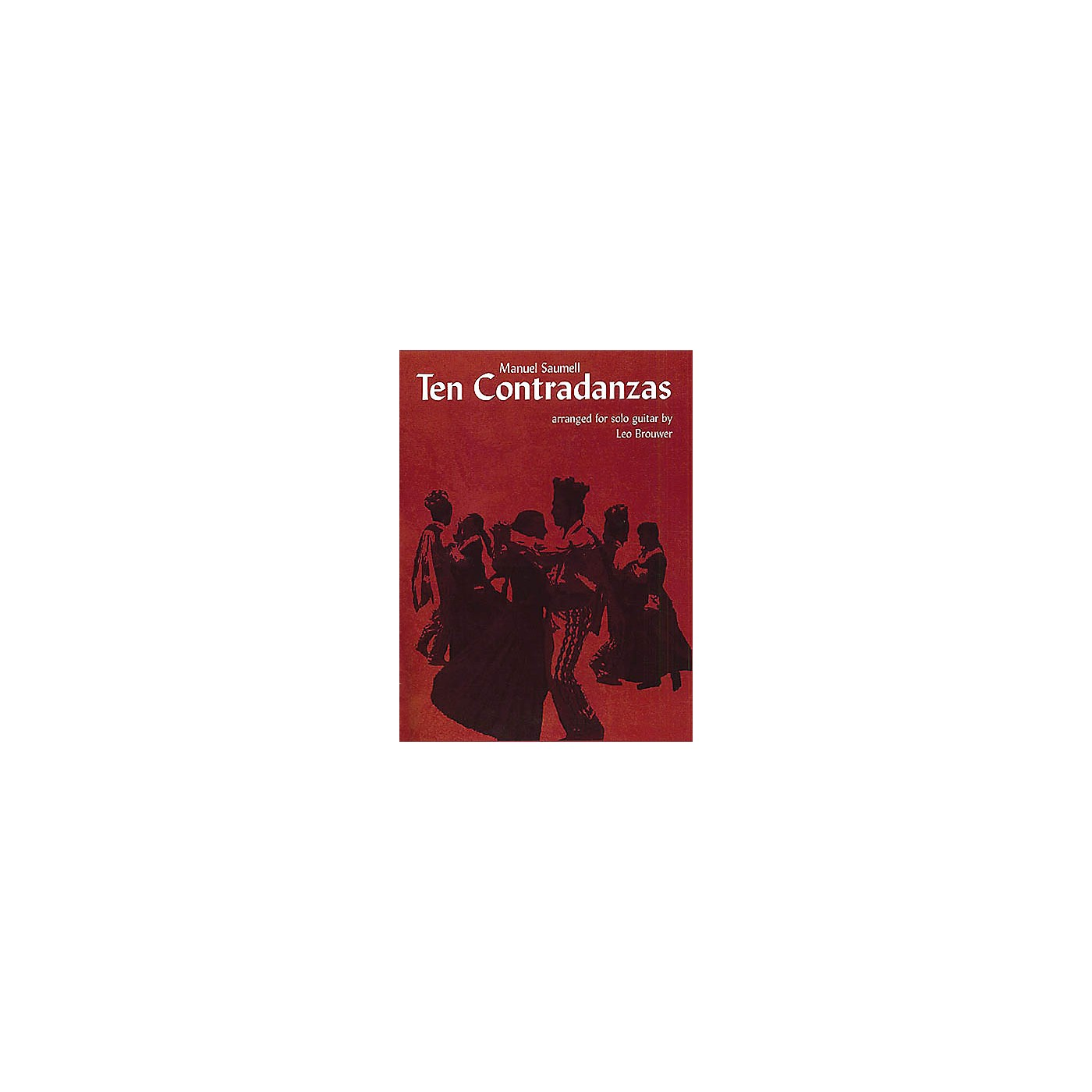 Music Sales Manuel Saumell: Ten Contradanzas (Guitar) Music Sales America Series thumbnail