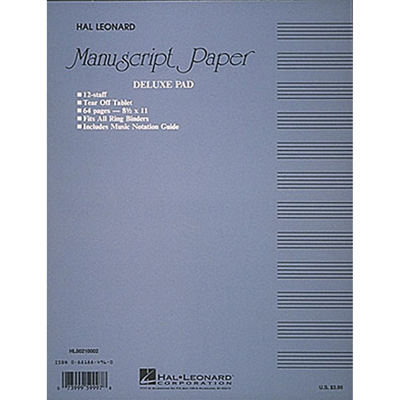 Hal Leonard Manuscript Paper thumbnail