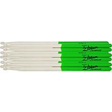Zildjian Maple Green DIP Drumsticks 6-Pack