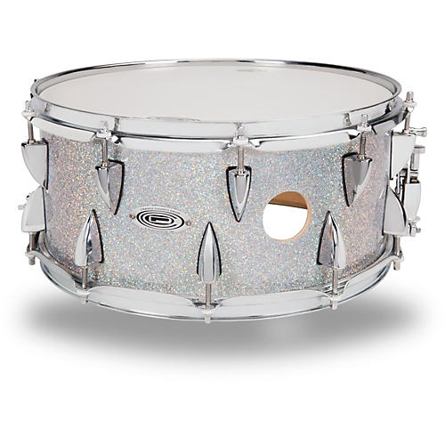 Orange County Drum & Percussion Maple Snare Drum in Halo Flake Finish thumbnail
