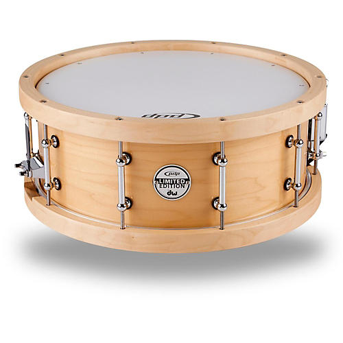 PDP by DW Maple Snare with Wood Hoops-thumbnail