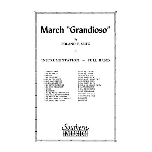 Southern March Grandioso (Marching Band/Marching Band Music) Marching Band Level 3 Composed by Roland F. Seitz thumbnail