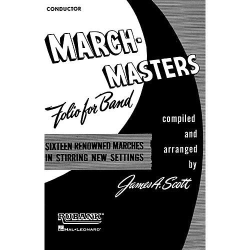 Rubank Publications March Masters Folio for Band (Baritone Saxophone) Concert Band Composed by Various thumbnail