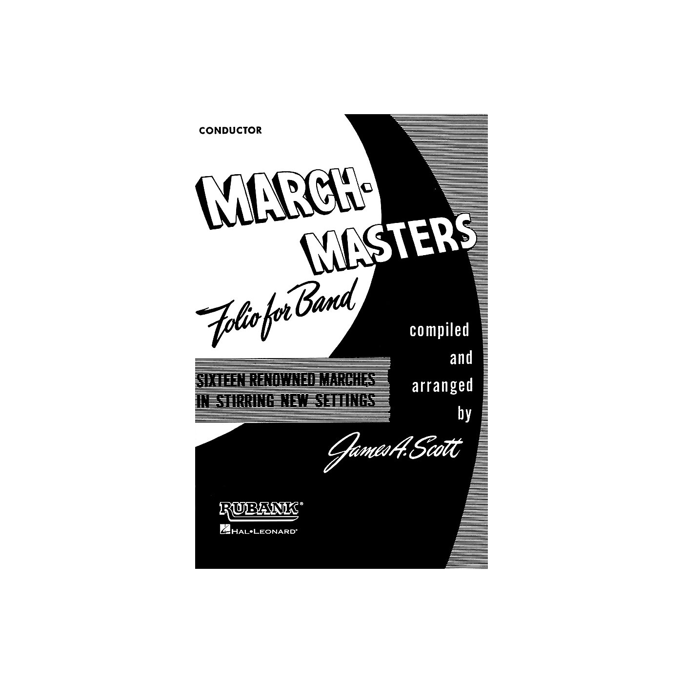 Rubank Publications March Masters Folio for Band (Conductor) Concert Band Composed by Various thumbnail
