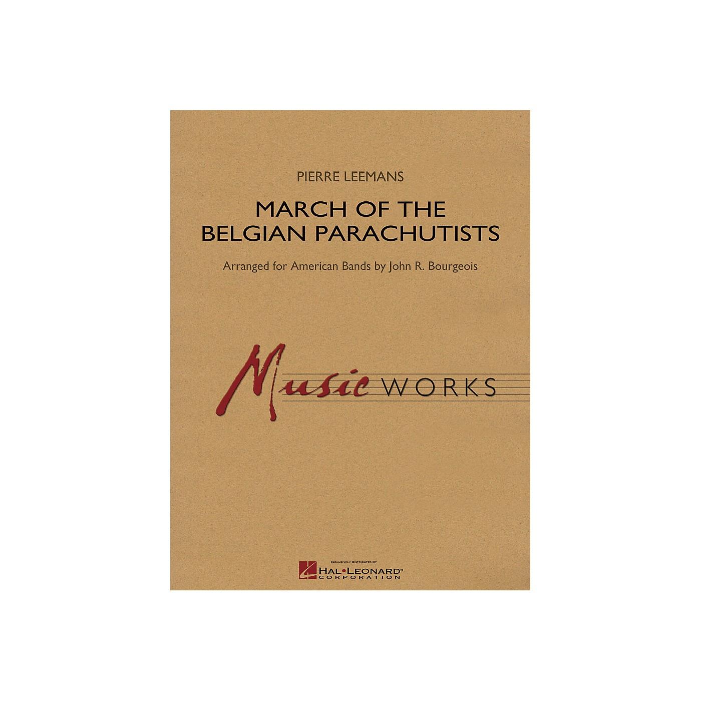 Hal Leonard March Of The Belgian Parachutists - Music Works Series Grade 4 thumbnail