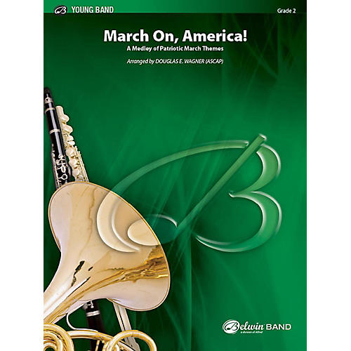 Alfred March On, America! Concert Band Grade 2 Set thumbnail