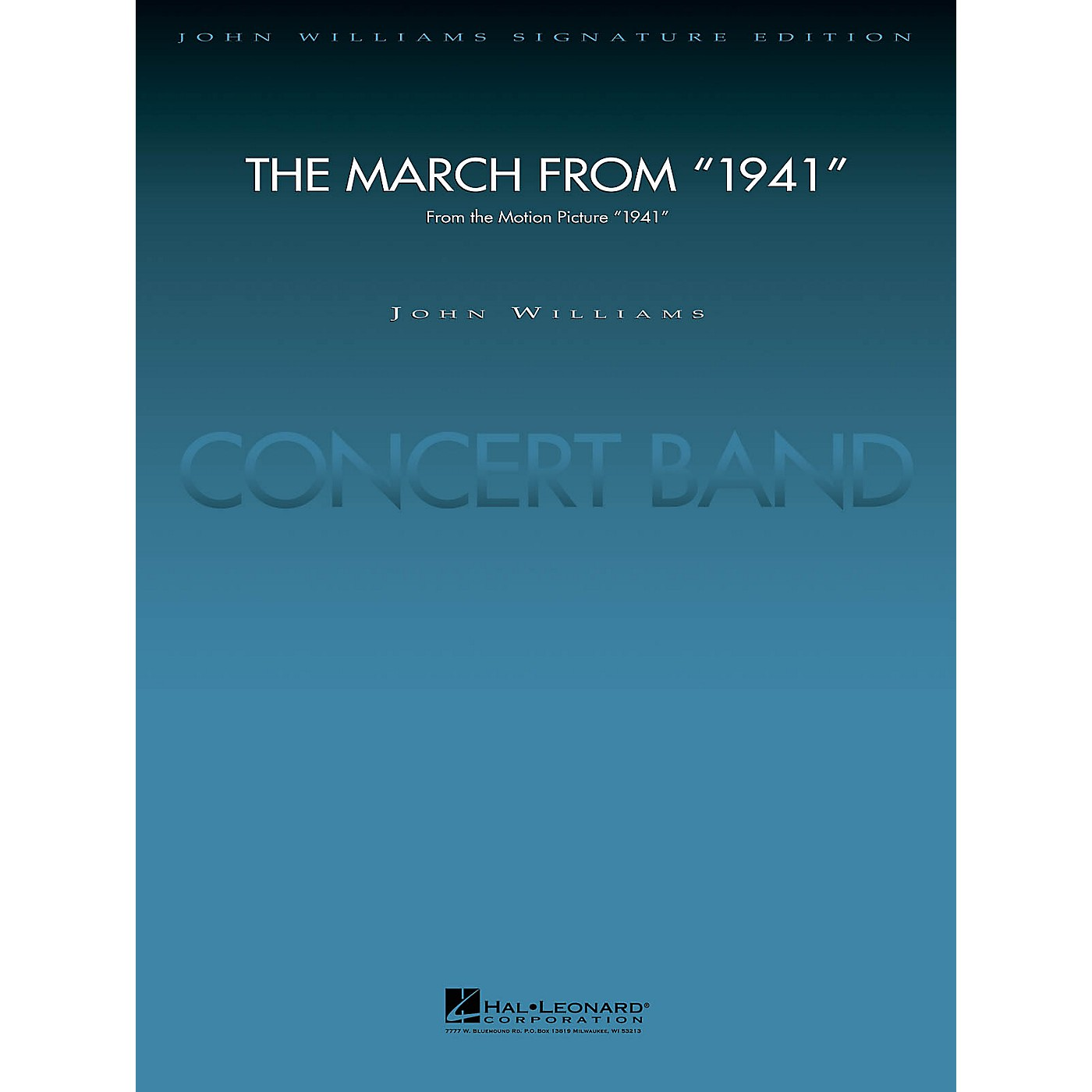 Hal Leonard March from 1941 (Score and Parts) Concert Band Level 5 Arranged by Paul Lavender thumbnail
