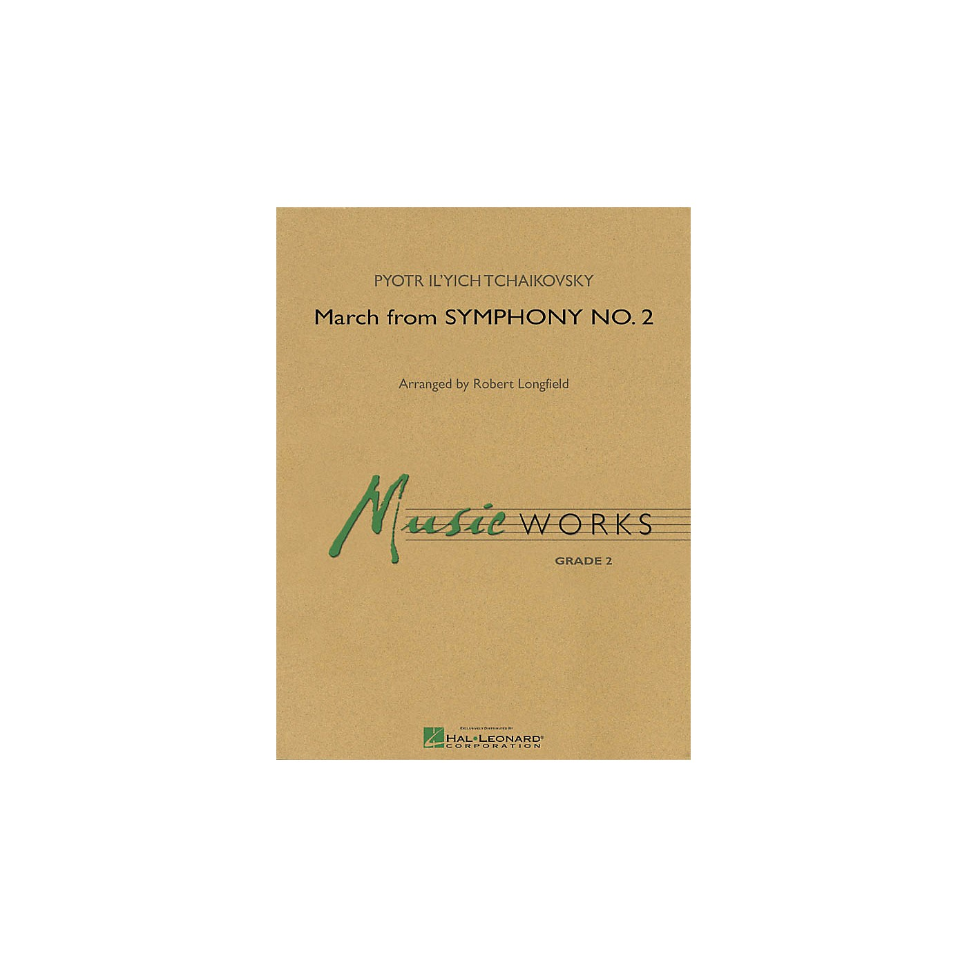 Hal Leonard March from Symphony No. 2 Concert Band Level 2 Arranged by Robert Longfield thumbnail