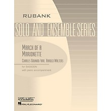 Rubank Publications March of a Marionette (Bassoon Solo with Piano - Grade 2.5) Rubank Solo/Ensemble Sheet Series