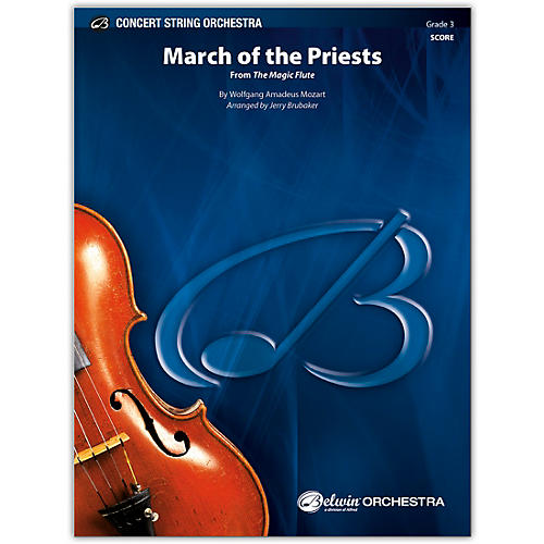 BELWIN March of the Priests Conductor Score 3 thumbnail
