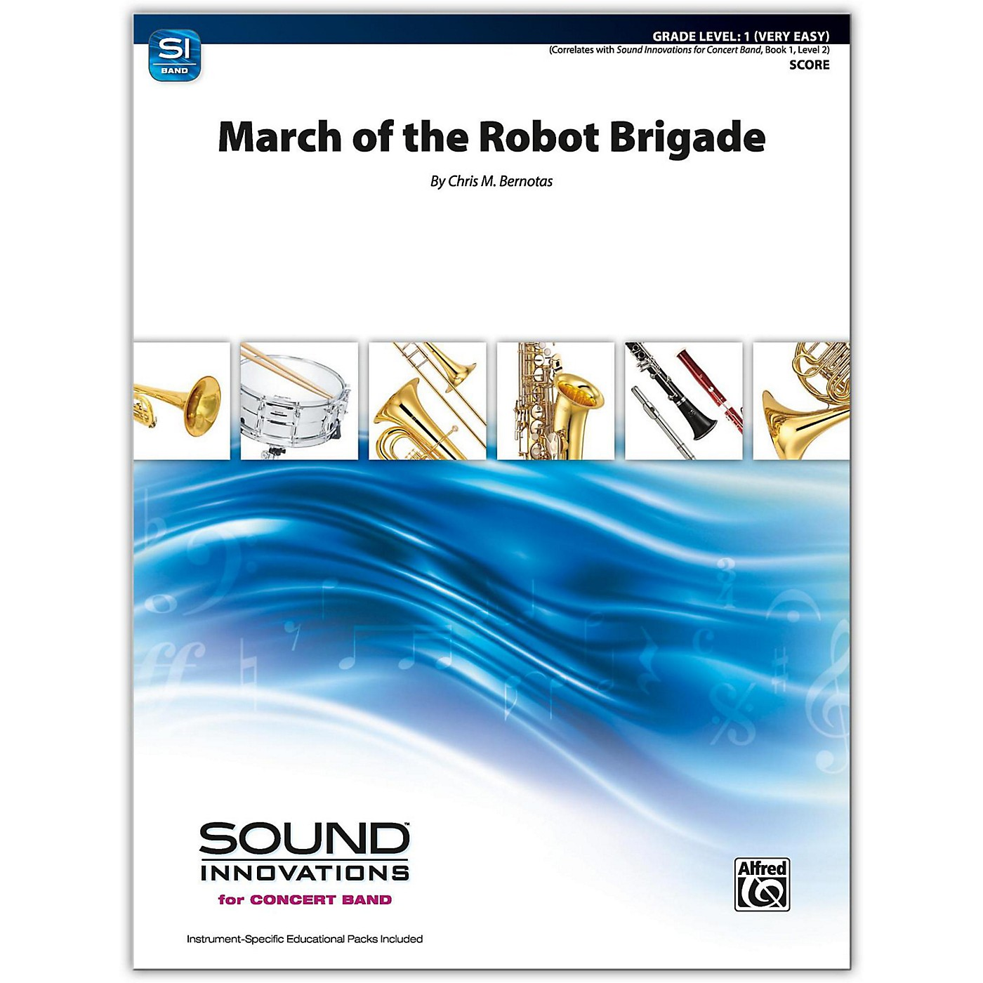 Alfred March of the Robot Brigade Conductor Score 1 (Very Easy) thumbnail