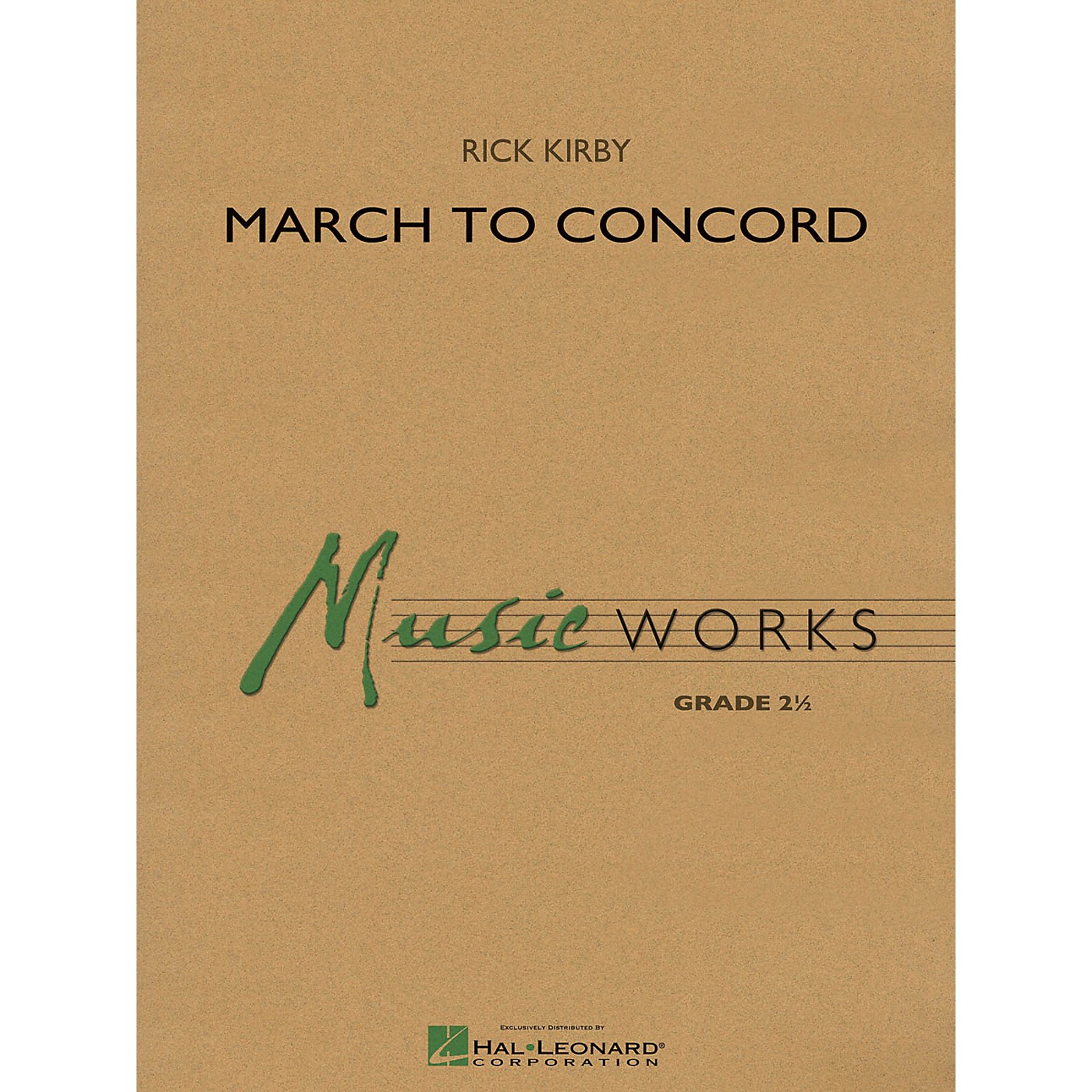 Hal Leonard March to Concord Concert Band Level 2.5 Composed by Rick Kirby thumbnail