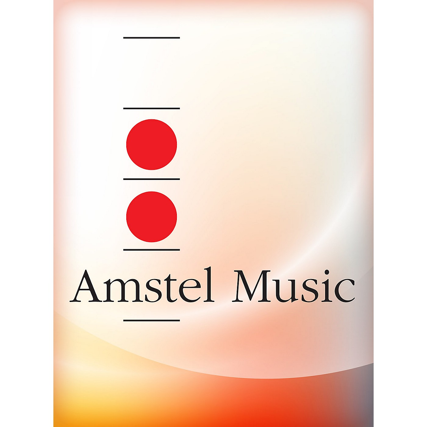 Amstel Music Marche Americana (Score with CD) Concert Band Level 3 Composed by Soren Hyldgaard thumbnail