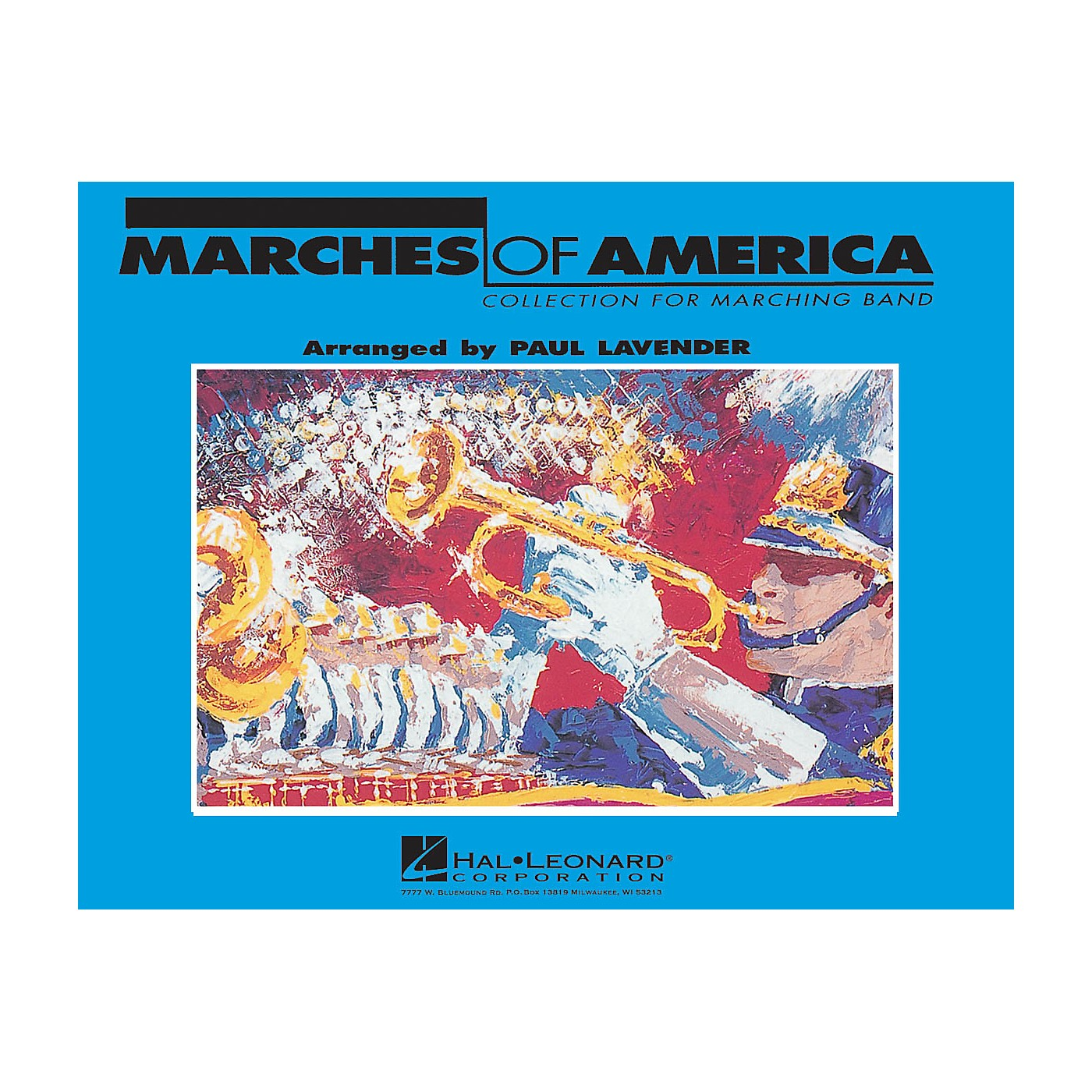 Hal Leonard Marches of America - Trumpet 1 Marching Band Level 3 Arranged by Paul Lavender thumbnail