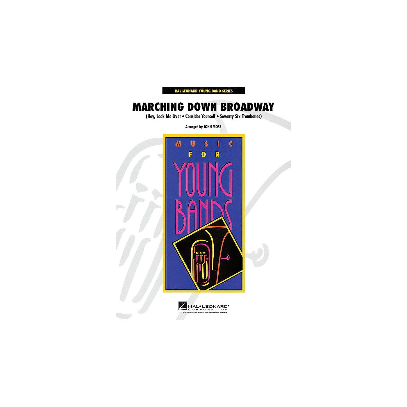 Hal Leonard Marching Down Broadway - Young Concert Band Level 3 by John Moss thumbnail