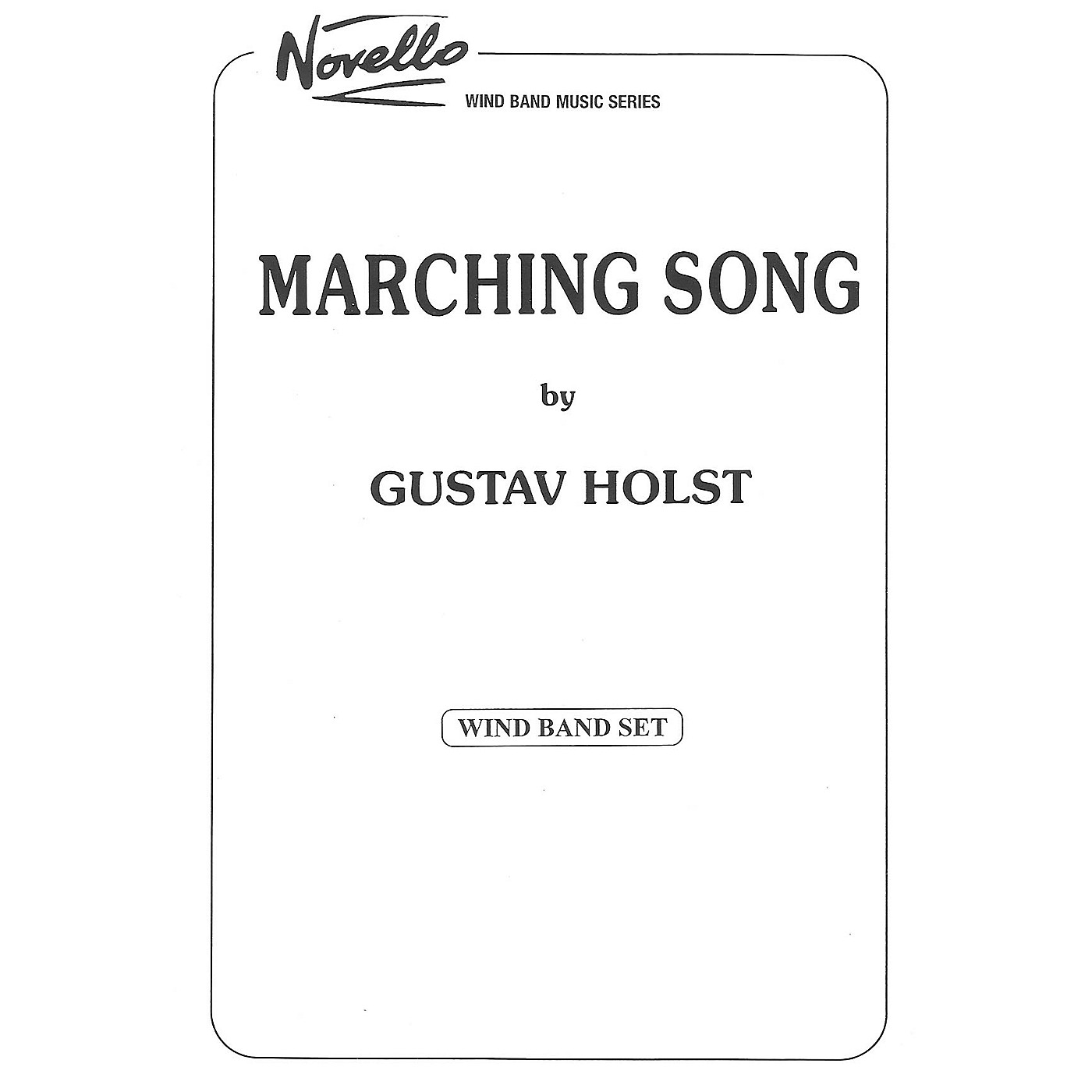 Studio Music London Marching Song Concert Band Composed by Gustav Holst thumbnail