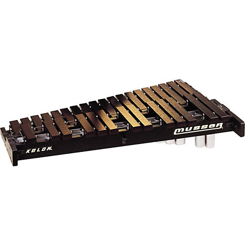 Musser Marching Xylophone without carrier and resonators thumbnail