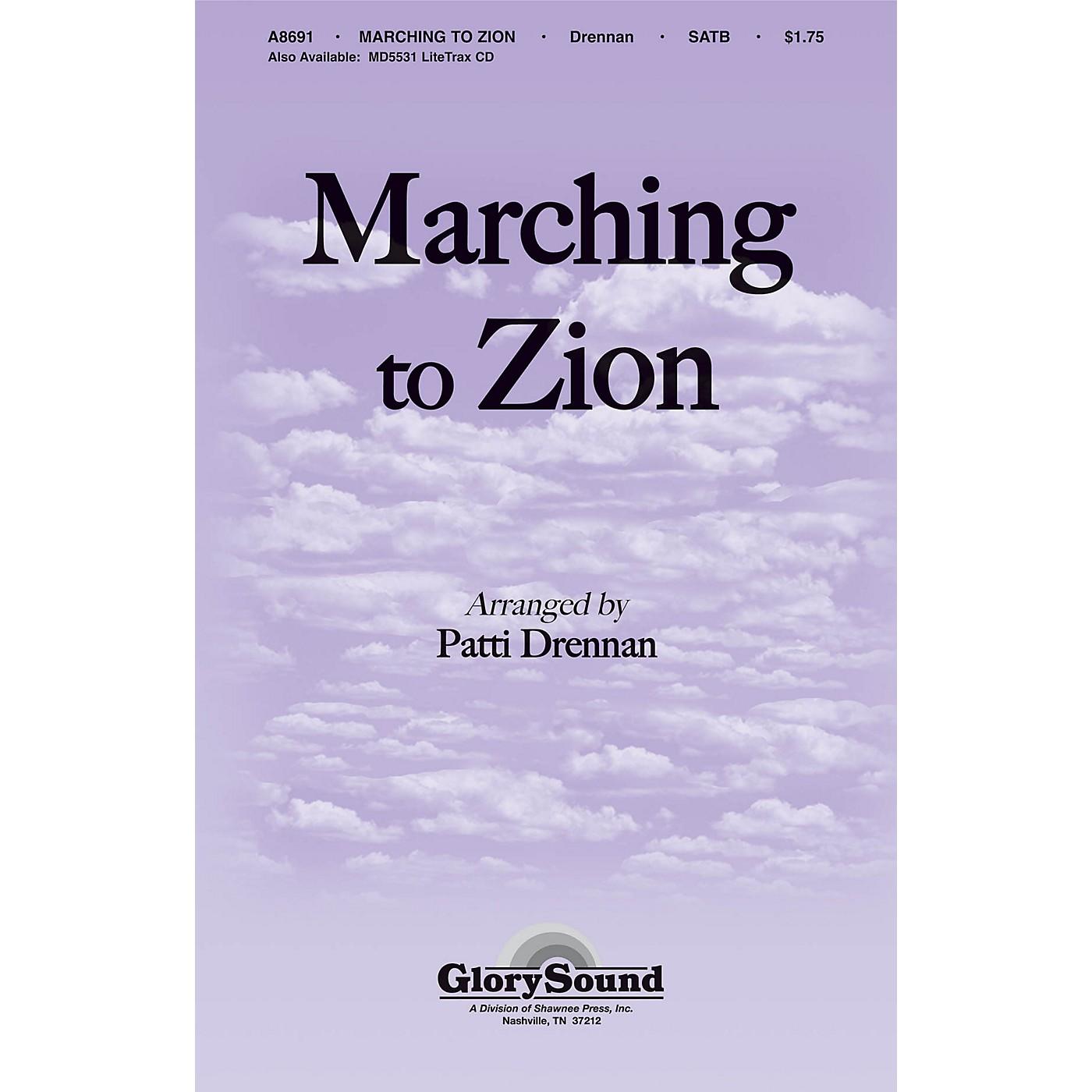 Shawnee Press Marching to Zion SATB arranged by Patti Drennan thumbnail