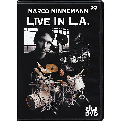 The Drum Channel Marco Minneman: Live in L.A. DVD thumbnail