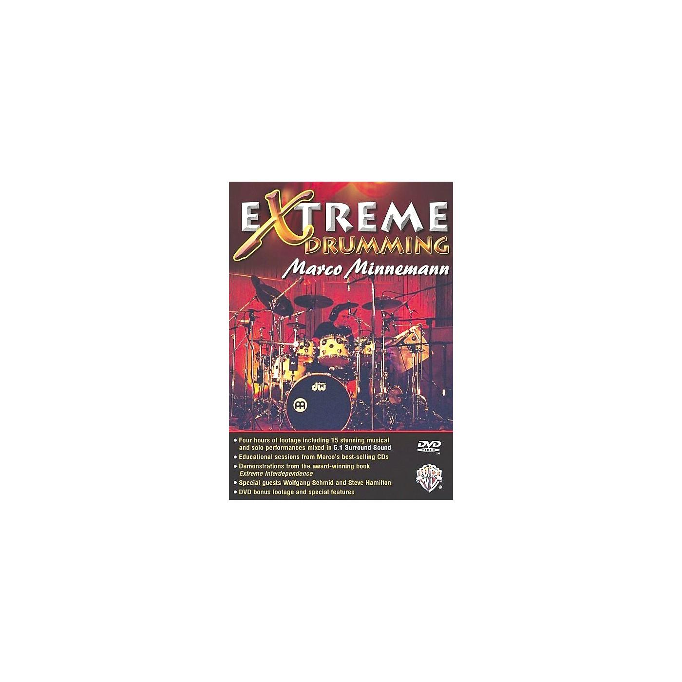 Warner Bros Marco Minnemann: Extreme Drumming (DVD) thumbnail