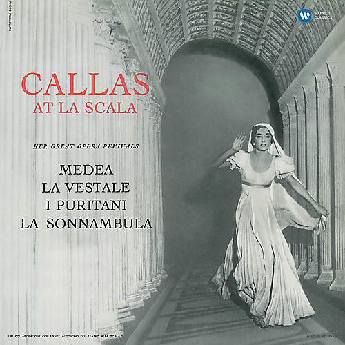 Alliance Maria Callas - Callas At La Scala (studio Recital) thumbnail