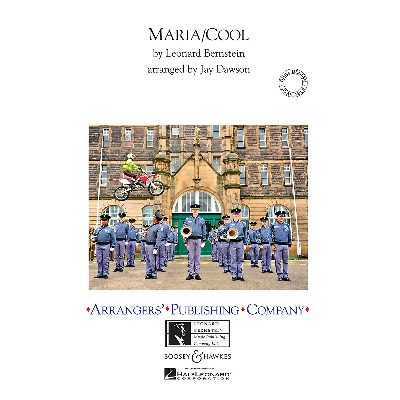 Arrangers Maria/Cool Marching Band Level 3 Arranged by Jay Dawson thumbnail