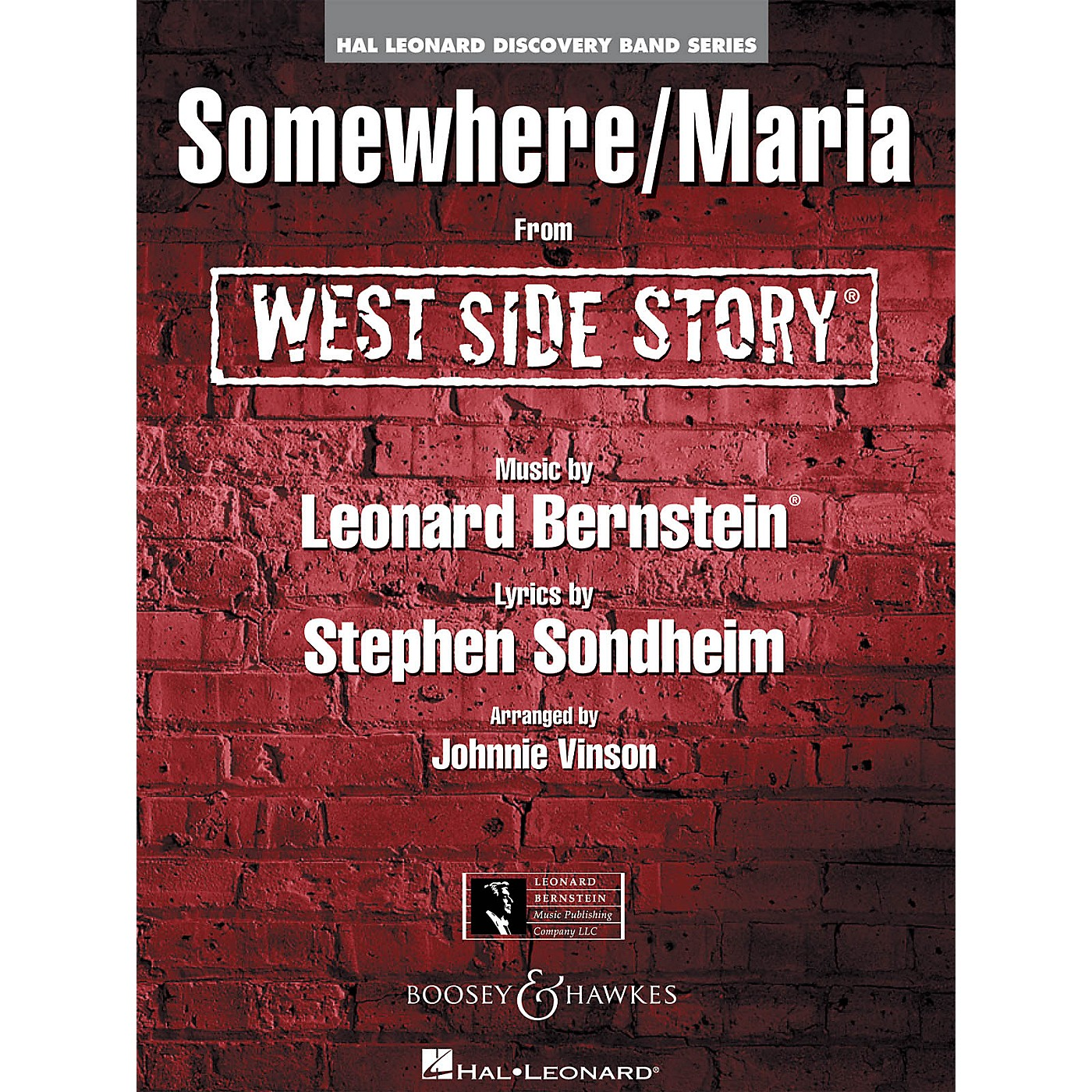 Hal Leonard Maria/Somewhere (from West Side Story) Full Score Concert Band thumbnail