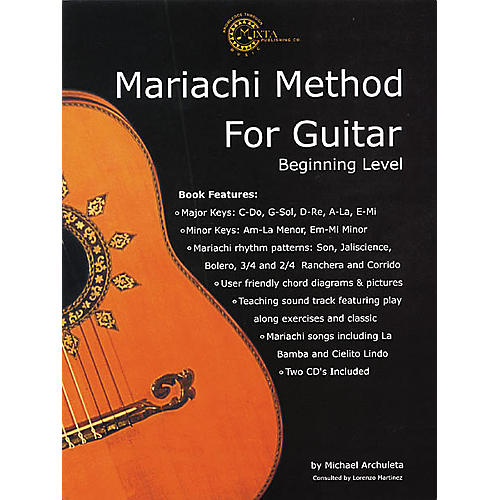 Mixta Publishing Co. Mariachi Method for Guitar (Book/CD) thumbnail