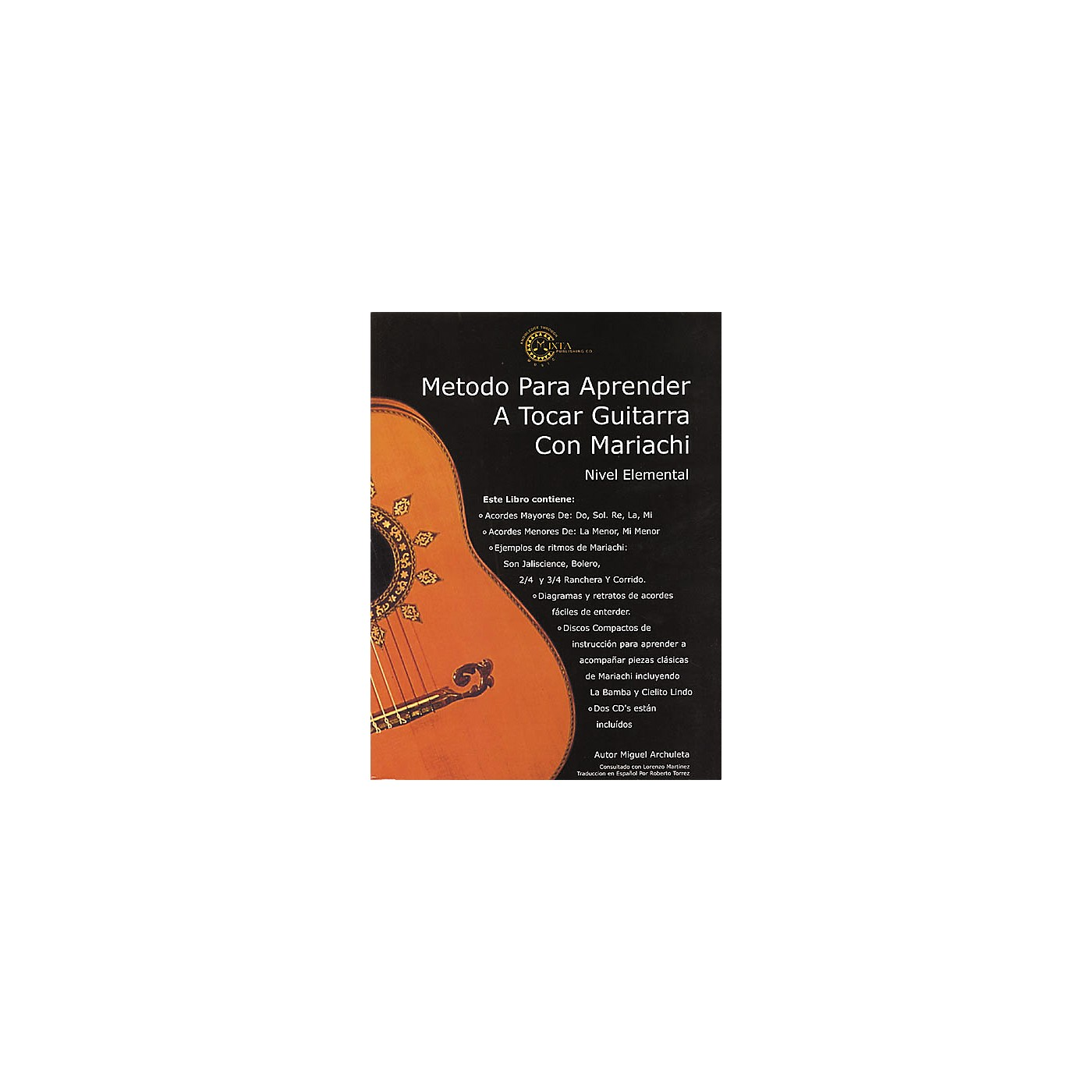 Mixta Publishing Co. Mariachi Method for Guitar Spanish (Book/CD) thumbnail
