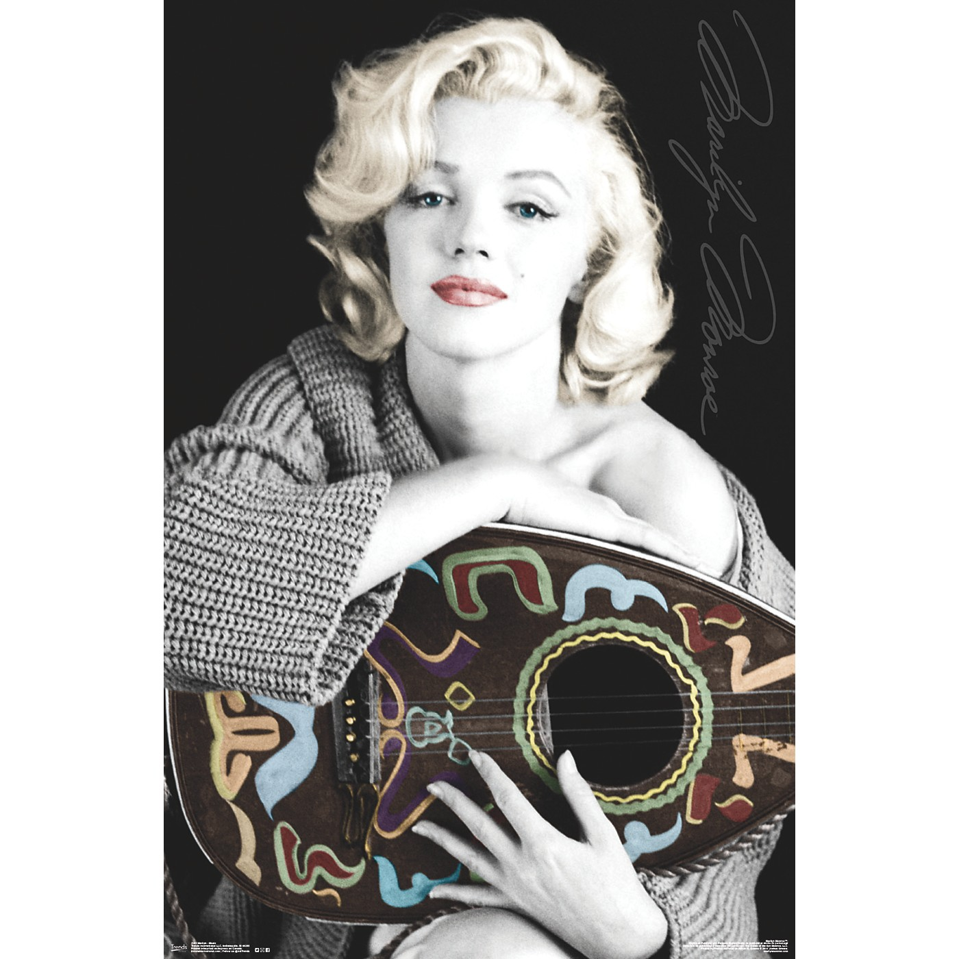 Trends International Marilyn Monroe - Music Poster thumbnail