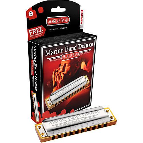 Hohner Marine Band Deluxe Harmonica M2005 thumbnail