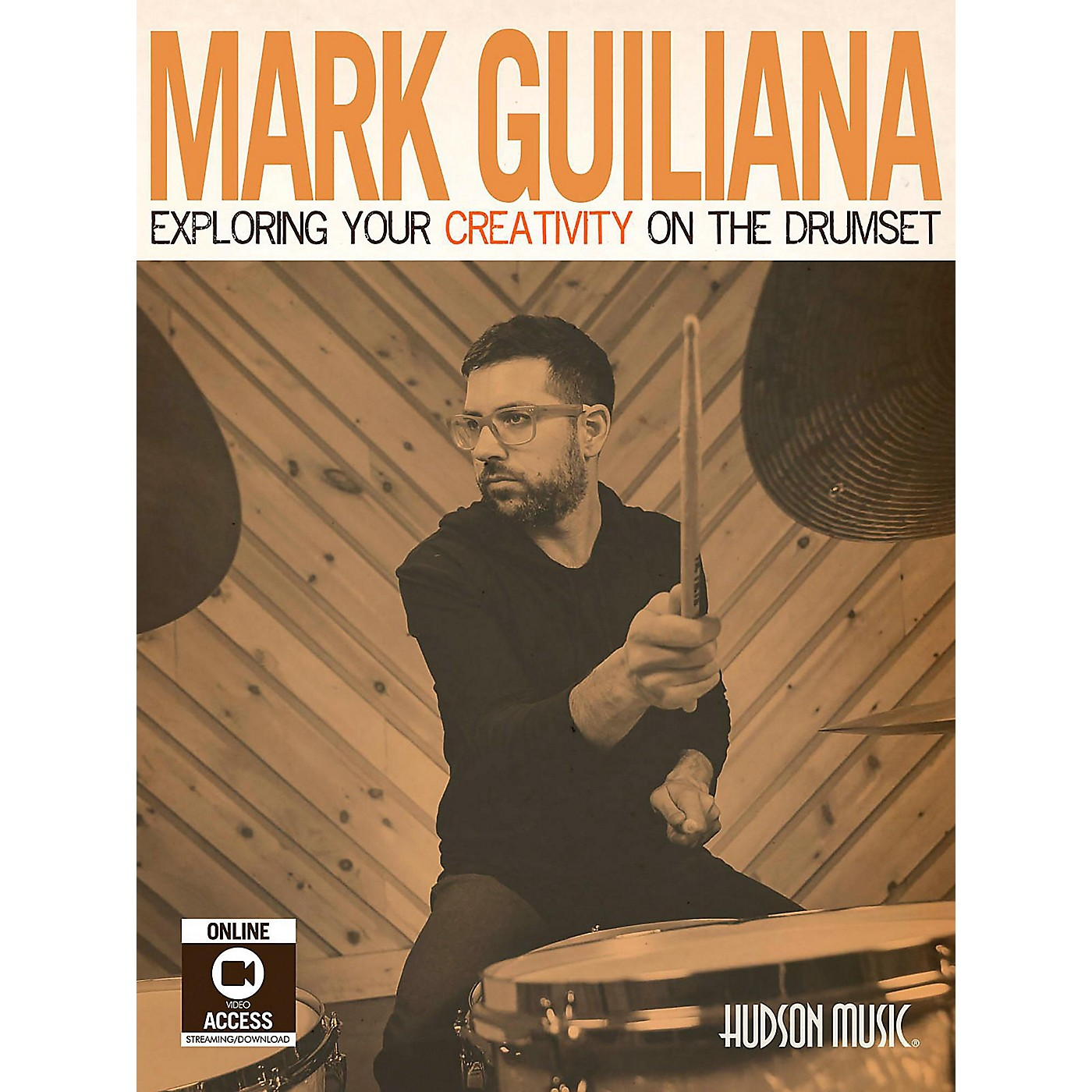 Hudson Music Mark Guiliana-Exploring Your Creativity on the Drumset Book/Video Access and DVD Included thumbnail