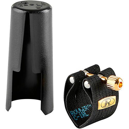 Rovner Mark III C-1RL Alto Saxophone Ligature and Cap thumbnail