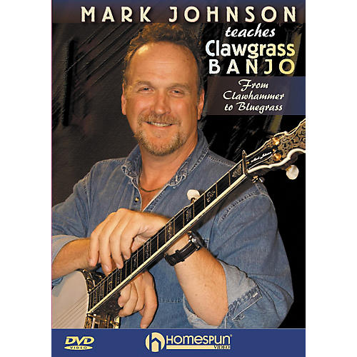 Homespun Mark Johnson Teaches Clawgrass Banjo (DVD) thumbnail