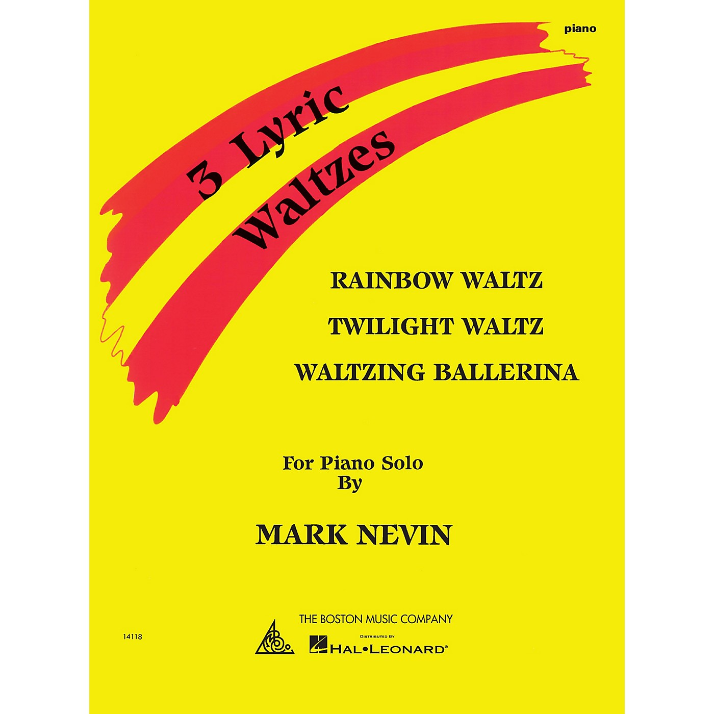 Music Sales Mark Nevin - Three Lyric Waltzes Music Sales America Series Softcover Composed by Mark Nevin thumbnail