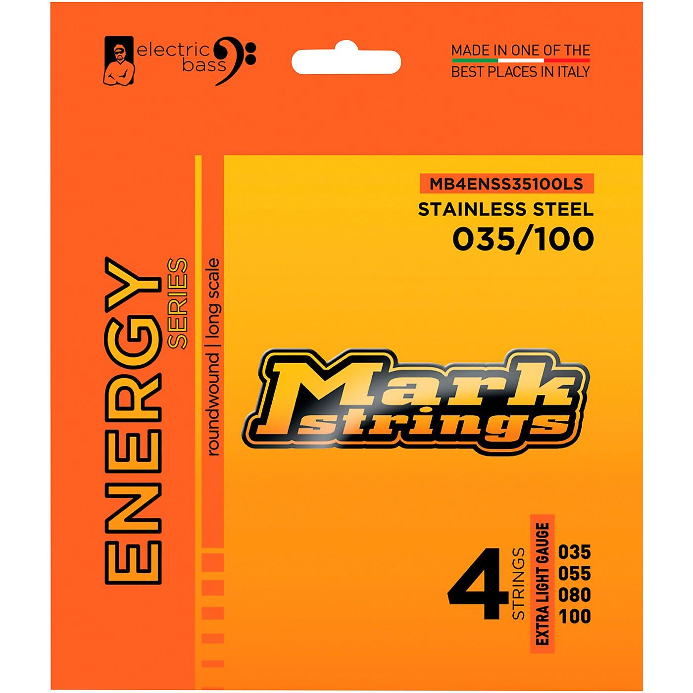 Markbass Markbass Energy Series Electric Bass Stainless Steel Strings thumbnail