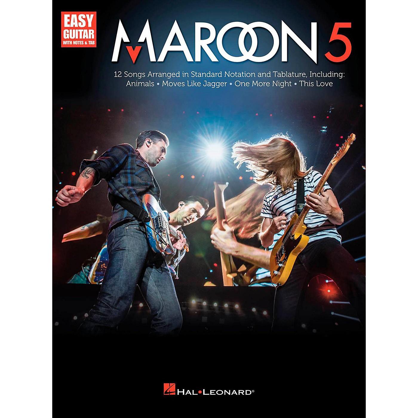 Hal Leonard Maroon 5 for Easy Guitar (With Tab) thumbnail