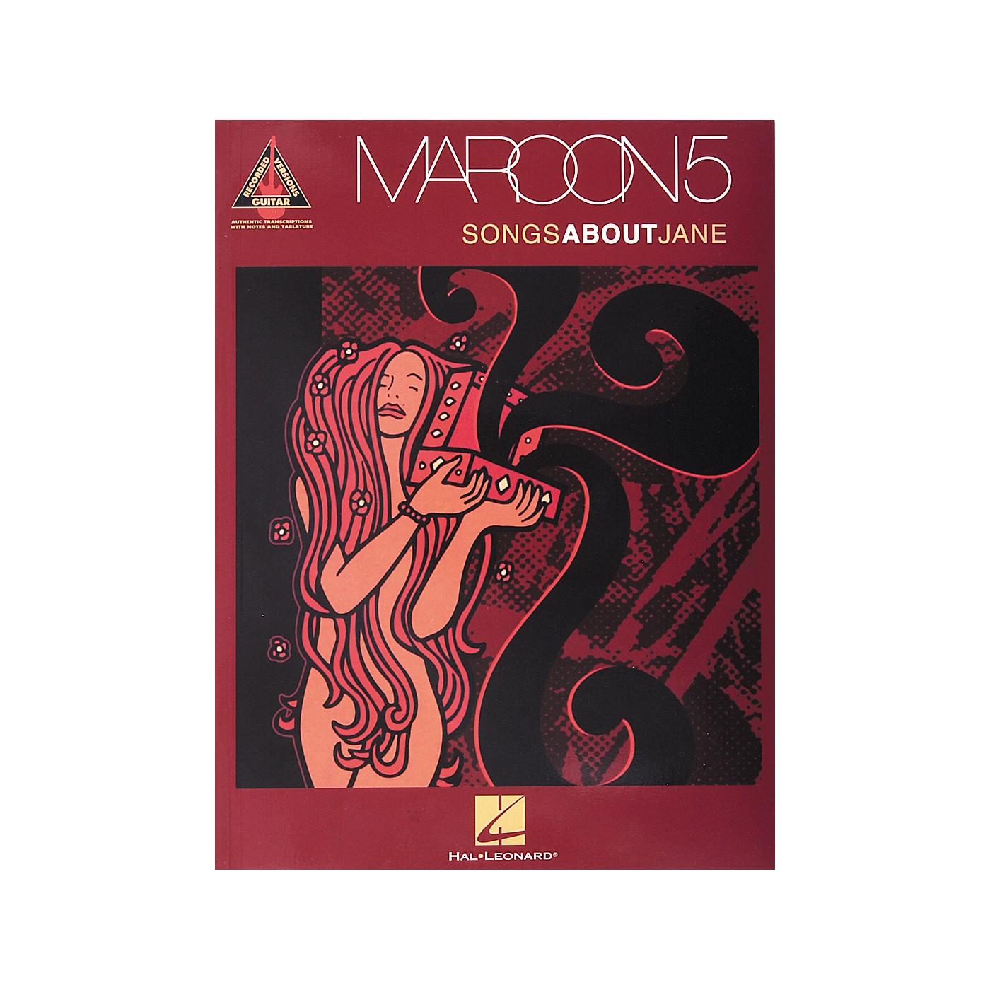 Hal Leonard Maroon5 - Songs About Jane Book thumbnail