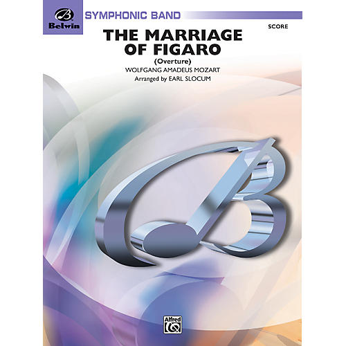 Alfred Marriage of Figaro Overture Conductor Score thumbnail