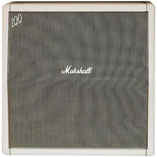 Marshall Marshall Custom Shop 1960A 4x12 Angled Guitar Cab Cream-thumbnail