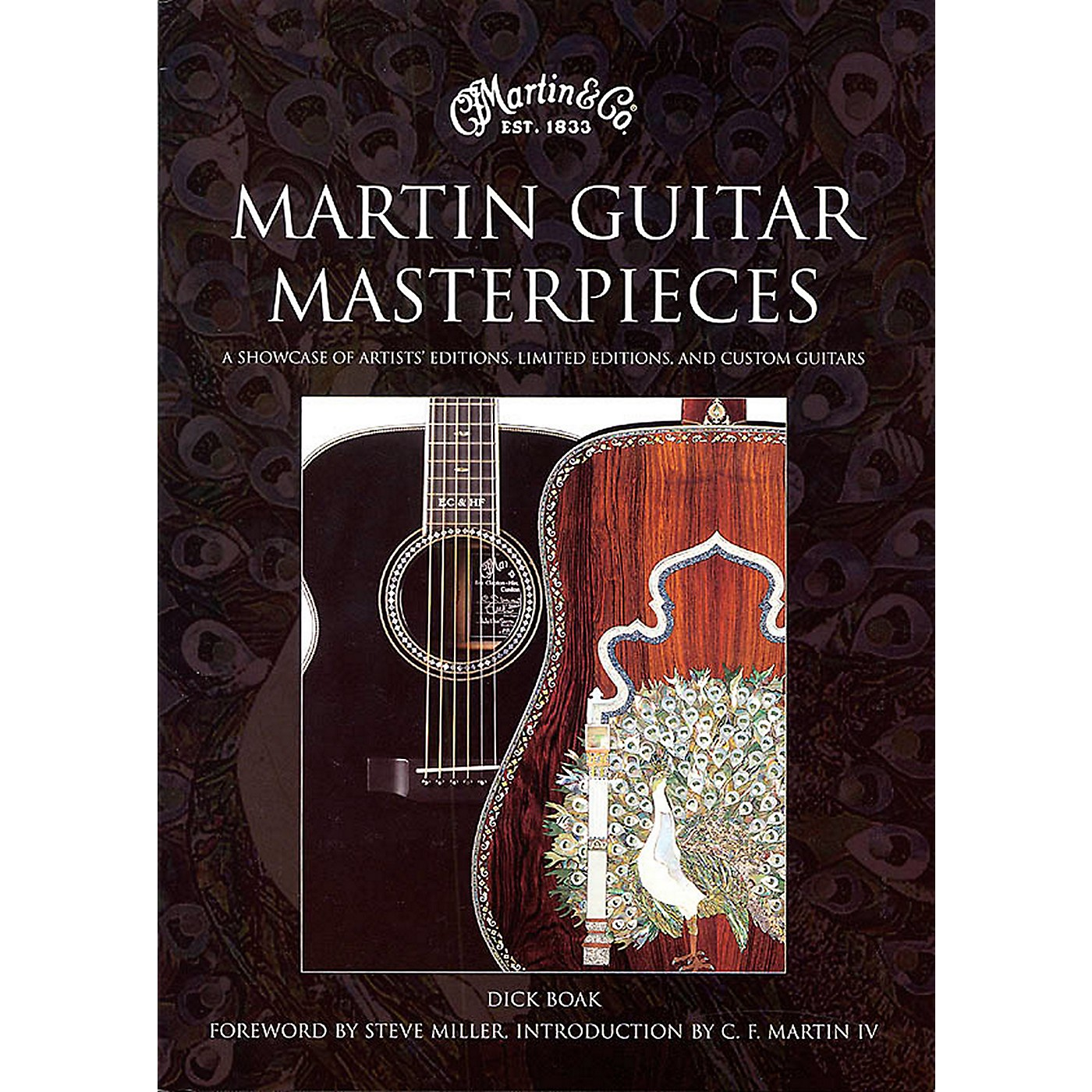 Hal Leonard Martin Guitar Masterpieces - A Showcase Of Artist's Editions Limited Editions And Custom thumbnail