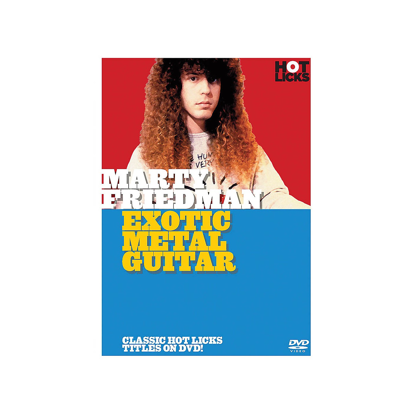 Music Sales Marty Friedman - Exotic Metal Guitar Music Sales America Series DVD Written by Marty Friedman thumbnail