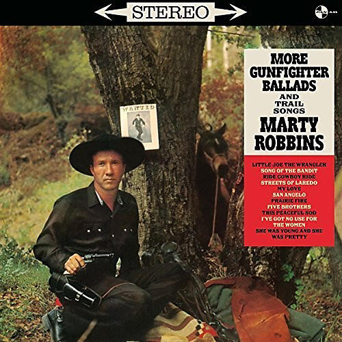 Alliance Marty Robbins - More Gunfighter Ballads and Trail Songs + 4 Bonus thumbnail
