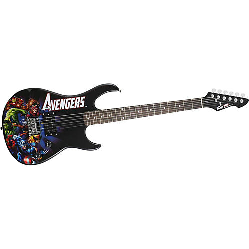 Peavey Marvel Avengers Rockmaster Electric Guitar thumbnail