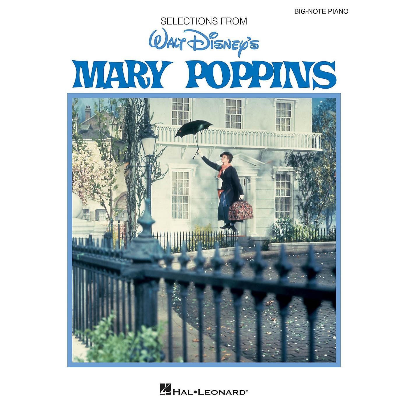 Hal Leonard Mary Poppins Big Note Piano Songbook thumbnail