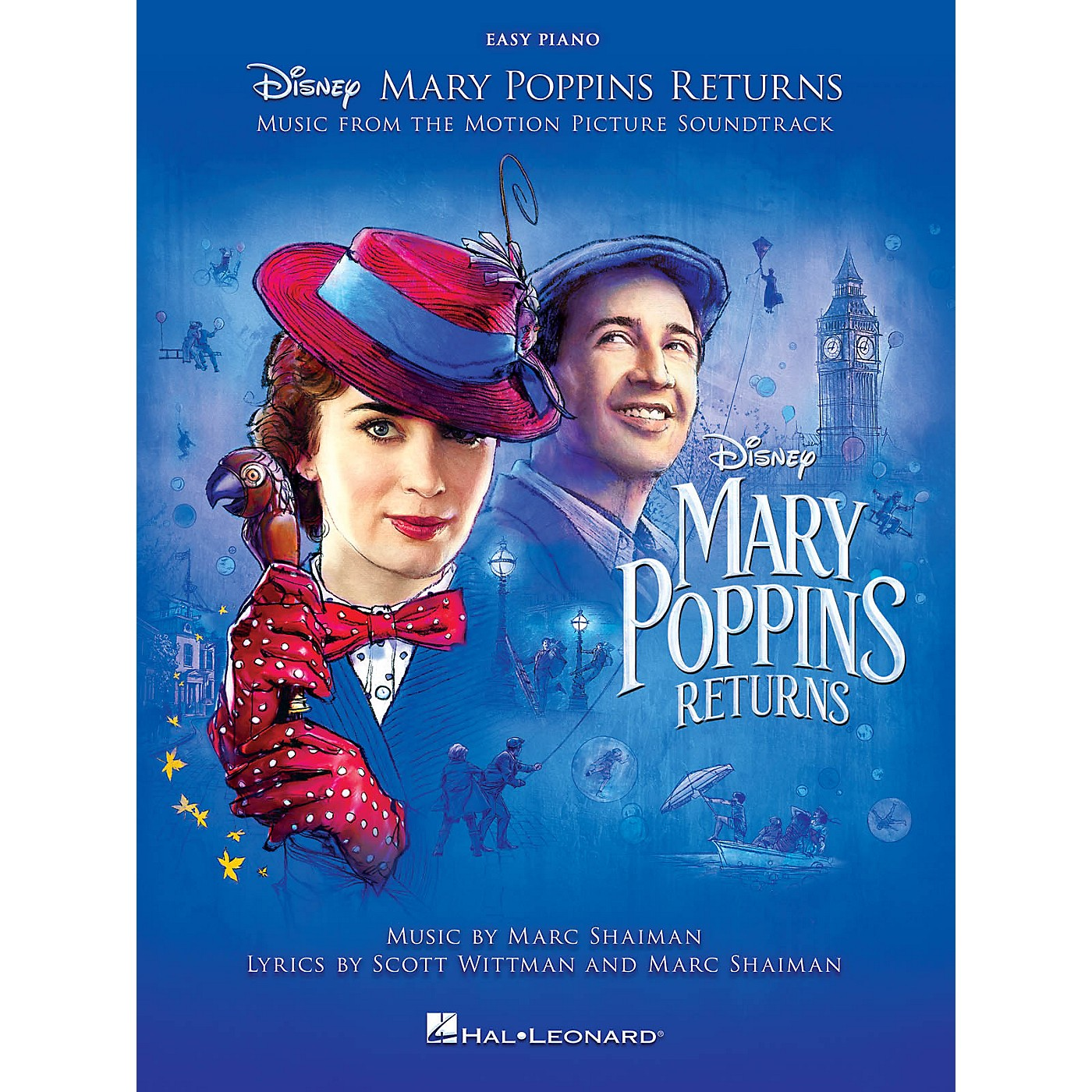 Hal Leonard Mary Poppins Returns (Music from the Motion Picture Soundtrack) Easy Piano Songbook thumbnail
