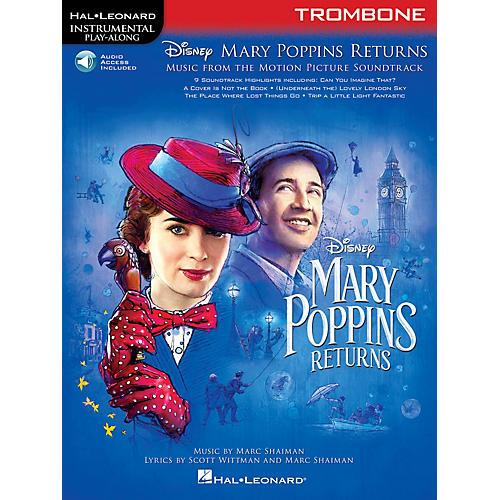 Hal Leonard Mary Poppins Returns for Trombone Instrumental Play-Along Book/Audio Online thumbnail